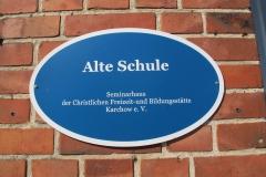 01 Schild Alte Schule