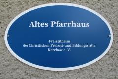01 Schild Altes Pfarrhaus